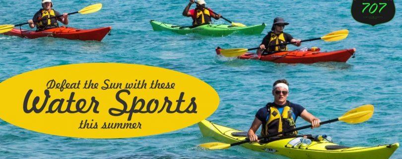 water sport in tehri